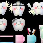 ząbki niemowlaczka